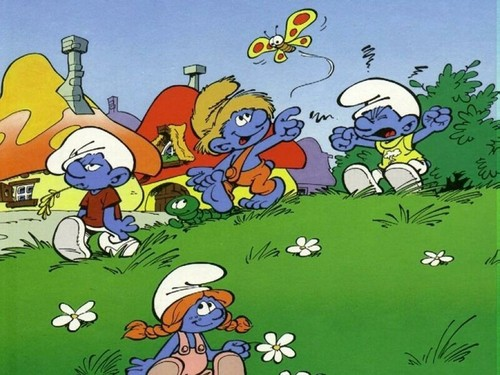 The Smurfs images Smurfs Wallpaper HD wallpaper and background photos