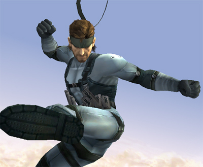 Super Smash Bros. Brawl wallpaper titled Snake