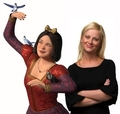Snow White and Amy Poehler - shrek photo