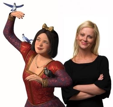 Snow White and Amy Poehler