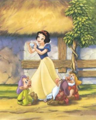 Snow White and the Seven Dwarfs achtergrond titled Snow White