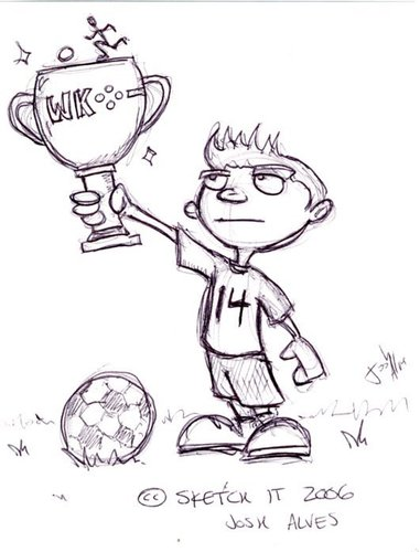 Bola sepak Sketches