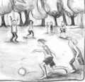 Soccer Sketches - soccer fan art