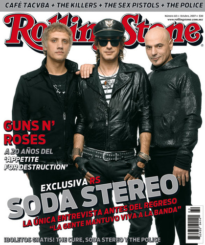 Soda Stereo - rock-en-espanol Photo
