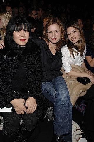 Sofia, Zoe Cassavete &Anna Sui