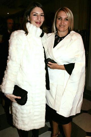 Sofia and Silvia Fendi
