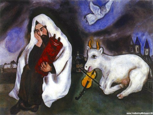 Solitude por Marc Chagall
