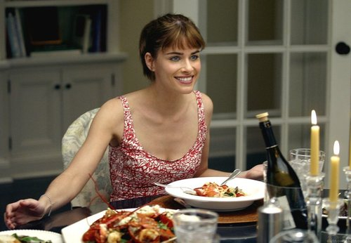 Amanda Peet wallpaper entitled Something's Gotta Give