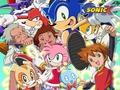 Sonic X kertas dinding