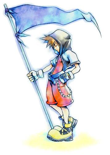 किंग्डम हार्ट्स वॉलपेपर entitled Sora