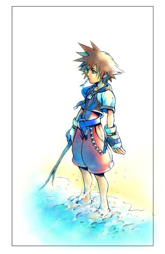 Kingdom Hearts پیپر وال titled Sora