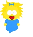 Maggie Simpson images Maggie's having a Bath wallpaper and ...