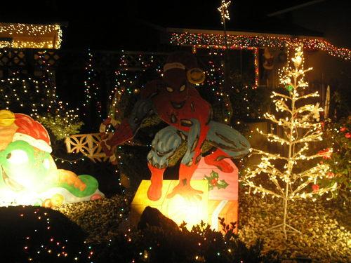 Spidey at Krismas