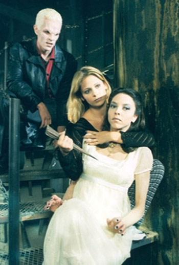 Spike,Buffy,Dru
