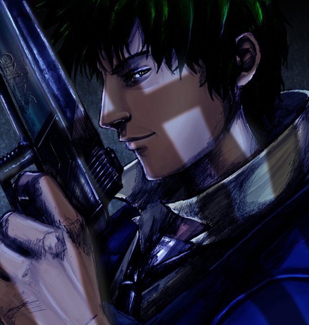 Spike Spiegel - Cowboy Bebop Fan Art (499591) - Fanpop