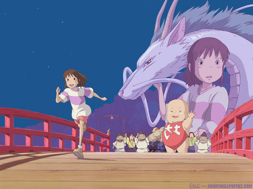 Spirited Away wallpaper entitled Spirited Away