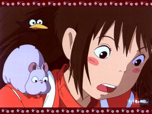 Spirited Away wolpeyper