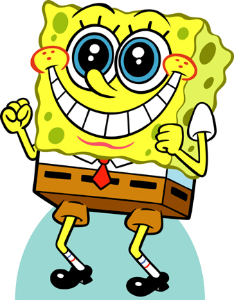 SpongeBob SquarePants karatasi la kupamba ukuta called Spongebob Happy