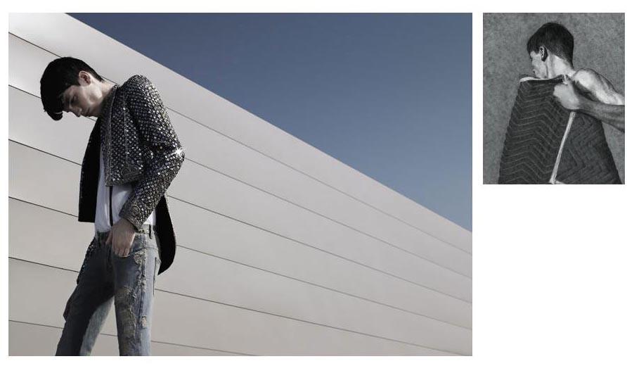 Spr/Sum 2006 Dior Homme Ad