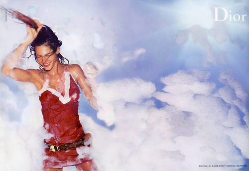 Dior wallpaper entitled Spring 03: Gisele Bundchen Ad