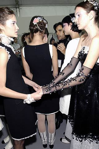 Spring 2006 Couture: Backstage