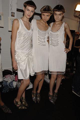 Spring 2007 RTW: Backstage