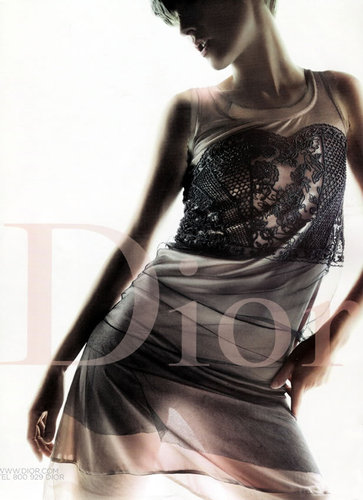 Dior wallpaper entitled Spring/Sum 2006 Stella Tennant
