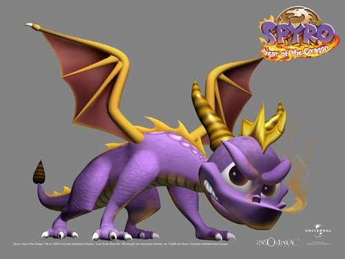 Spyro: tahun of the Dragon WP