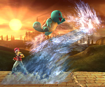 Squirtle Special Moves
