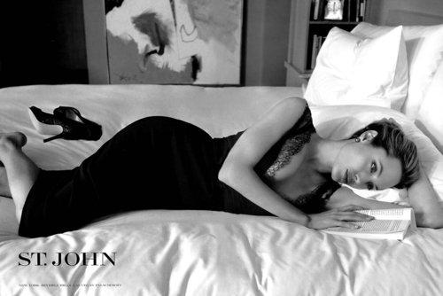 Angelina Jolie wallpaper titled St. John Ad