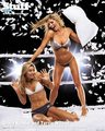 Stacy and Torrie - pillowfight - torrie-wilson photo