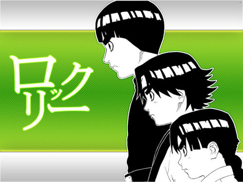Stages of Rock Lee