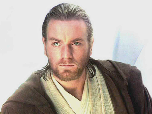 Ewan McGregor kertas dinding called bintang Wars