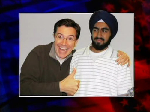 "Stephen Colbert wallpaper titled Stephen's ""Friends"""