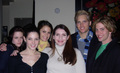 Stephenie Meyer with the cast - twilight-series photo