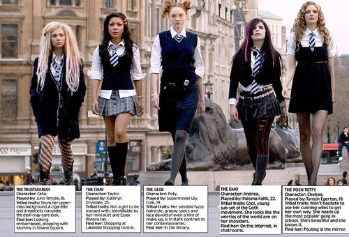 St. Trinian's wallpaper called Stereotypes