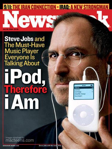 Newseek Cover: Steve Jobs