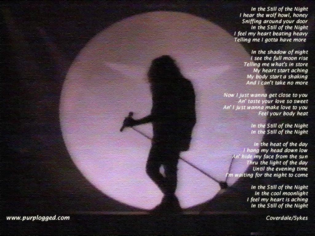 Still of the Night - Whitesnake Wallpaper (446515) - Fanpop