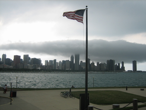 Stormy Chicago