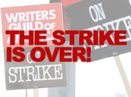 Strike is over