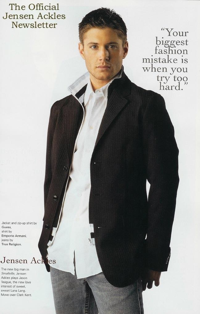 jensen ackles hot. Stylish - Jensen Ackles Photo