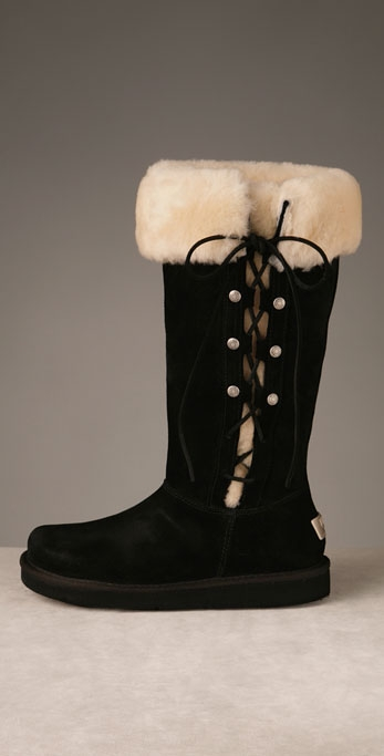 Suede Upside Boot