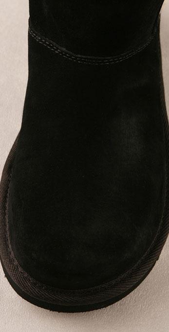 Suede Upside Boot