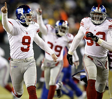 New York Giants 바탕화면 called Super Bowl XLII Champions