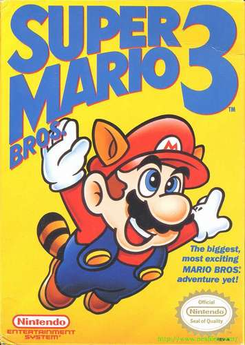 The 90s wolpeyper called Super Mario 3