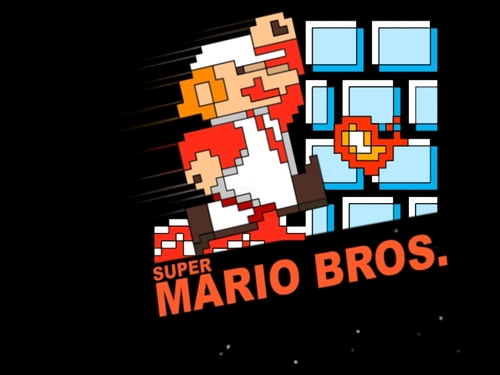 Super Mario Hintergrund called Super Mario Bros. - NES