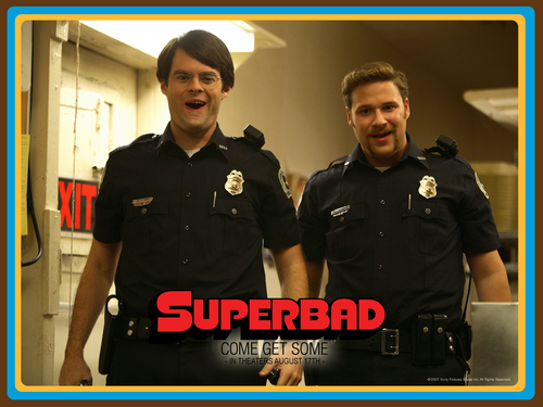 Bill Hader wallpaper called Superbad wallpaper