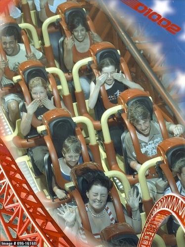 スーパーマン Ride 写真