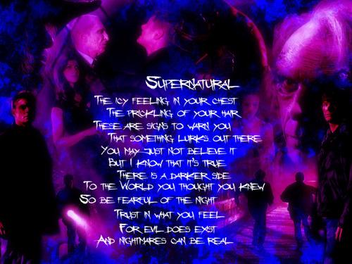 sobrenatural poem