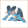 Swampert - mudkip-marshtomp-and-swampert photo